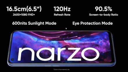 Realme Narzo 30 Pro: новый смартфон среднего уровня с 5G