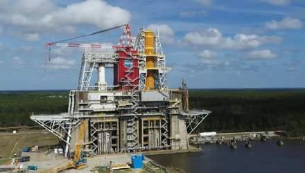 NASA отменило испытания ракеты SLS из-за проблем с клапаном