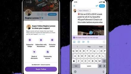 У Twitter появится платная подписка за 5 долларов в месяц и новые полезные функции
