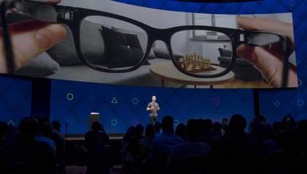 Facebook хоче використати систему розпізнавання облич у своїх розумних окулярах