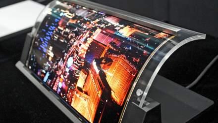 Ученые разработали новый прототип гибкой панели OLED