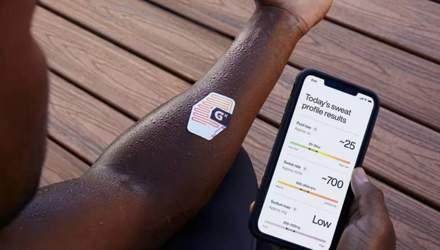 Gatorade випустила смарт-патч, що вимірює потовиділення і рівень гідратації
