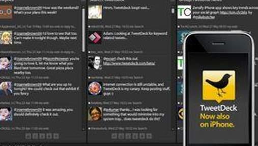 Twitter придбав компанію Tweetdeck