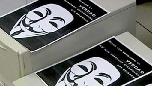 Трех хакеров из группы Anonymous арестовали в Испании