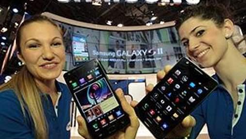Galaxy S II — найпопулярніший смартфон Samsungы