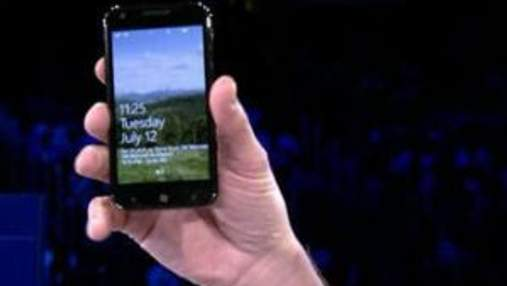 Microsoft показала новые смартфоны на базе Mango