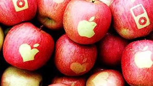 Завтра сторонники Apple раздадут 100 килограммов яблок