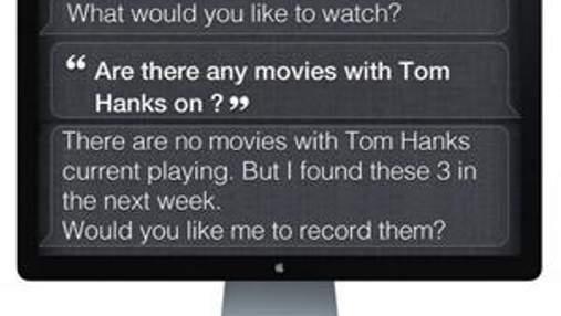 Пультом управления телевизорами Apple будет голос человека