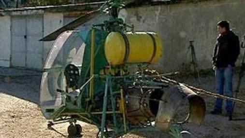 Двое братьев из Феодосии собственноручно смастерили вертолет