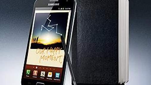 """Samsung відвантажила мільйон """"смартфонопланшетів"""""""