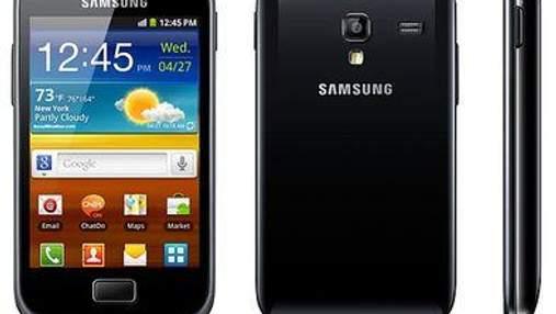 Samsung представила смартфон Galaxy Ace Plus