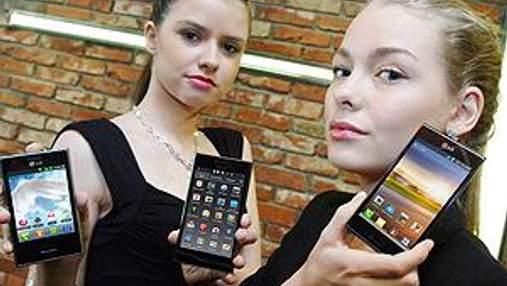 LG анонсировала три смартфона