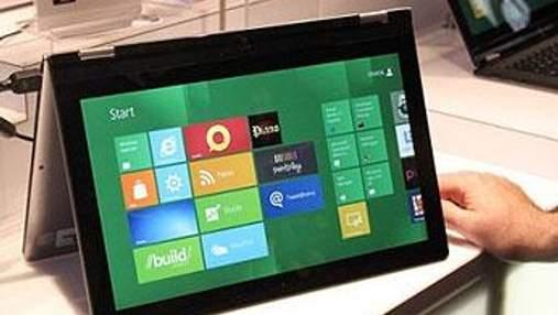 Перший планшет з Windows 8 на борту представить Lenovo