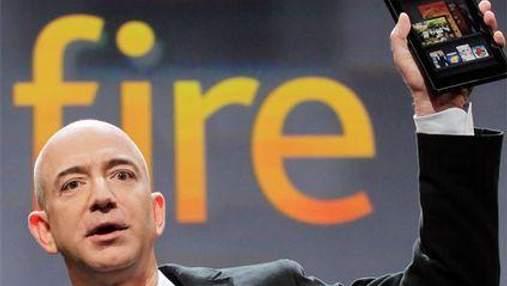 Планшет Kindle Fire став для Amazon успішнішим, ніж очікувалось