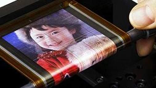 LG готує випуск гнучких кольорових екранів