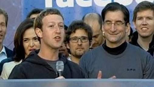 Акції Facebook в перший день торгів зросли лише на 23 центи