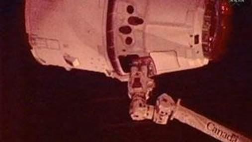 К МКС прибыл первый частный транспортный корабль