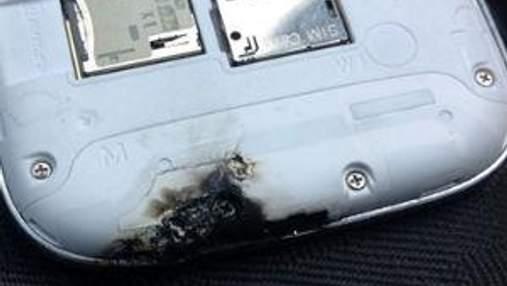 У Ірландії сам загорівся Samsung Galaxy SIII