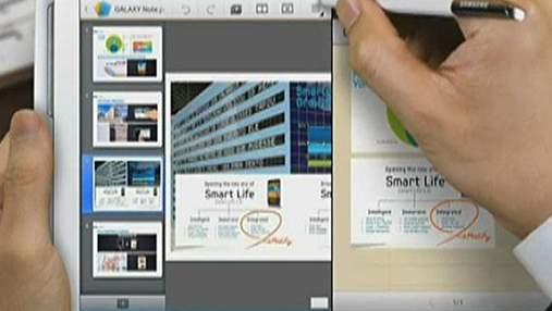 Samsung Galaxy Note 10.1 дозволяє самостійно створювати контент