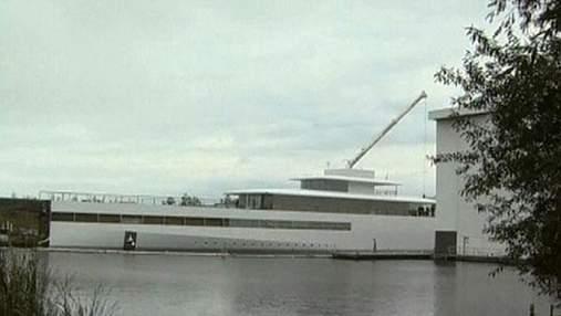 У Нідерландах представили яхту, спроектовану Стівом Джобсом