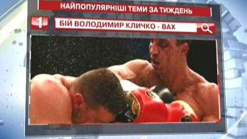 """Бой между Вахом и Кличко - самый популярный запрос в """"Яндексе"""""""