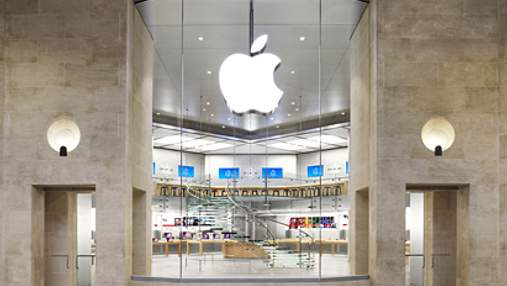 Передноворічна крадіжка з магазину Apple на 1 млн євро