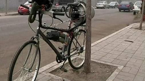 Британець створив екологічний велосипед для жителів Пекіна