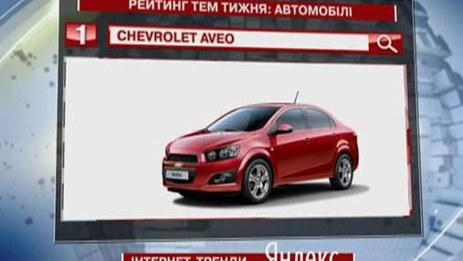 """Самое популярное авто в """"Яндекс"""" - бюджетник Chovrolet Aveo"""