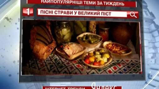 """Начался Великий пост - пользователи """"Яндекс"""" активно ищут рецепты постных блюд"""