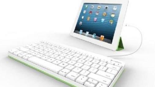 Для iPad розробили дротову клавіатуру
