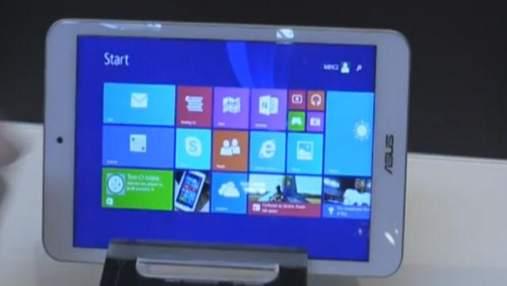Asus анонсувала новий планшет – VivoTab 8, Sony представила SmartWatch і фітнес-браслет