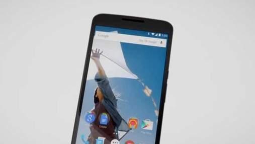 Спільно з Motorola Google анонсував новий планшетофон — Nexus 6