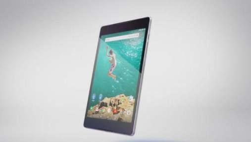 Google и HTC выпустили совместный планшет