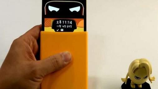 """LG представила """"эмоциональный"""" смартфон с оригинальным чехлом"""