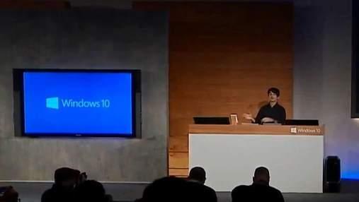 Інновації. Microsoft анонсувала вихід Windows 10  та представила кілька нових пристроїв