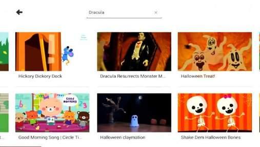 Google випустила додаток YouTube для дітей