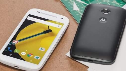Motorola представила оновлений смартфон Moto E