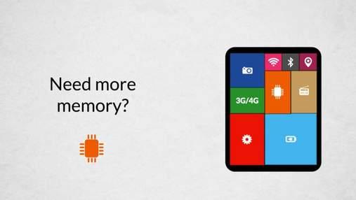 Іспанська компанія розробила перший у світі модульний планшет