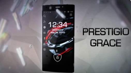 Інновації. В Україні доступний Prestigio Grace X7, смартфон легко перетворюється на комп'ютер