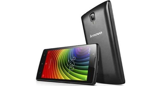 В Україні стартували продажі нового бюджетного смартфона від Lenovo