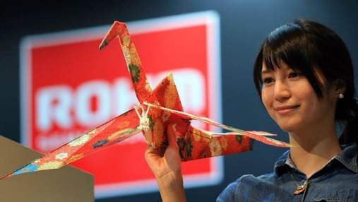 """Надлегкий дрон-орігамі, який літає наче птах та планшетофон від LG з """"революційною"""" ціною"""