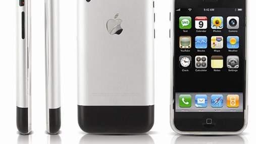 Сегодня iPhone отмечает свой юбилей