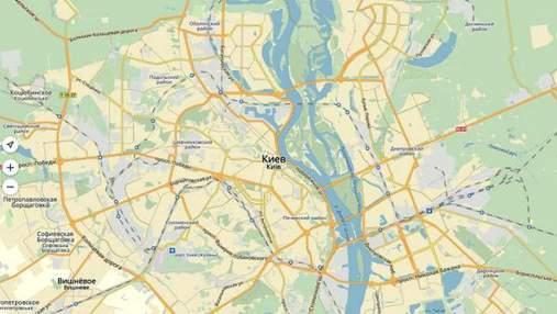 """Приложение """"Яндекс.Карты"""" обошло  блокировку на территории Украины"""