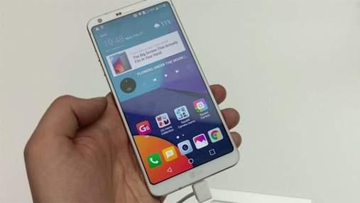 Компания LG представила уникальный смартфон