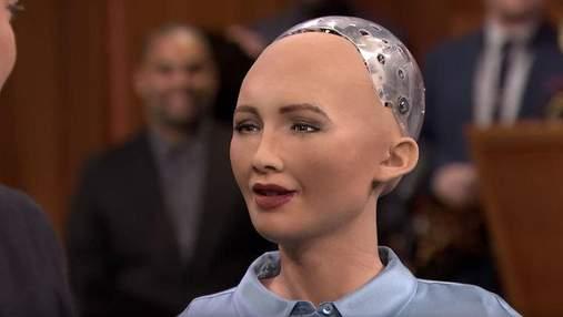 Створити сім'ю: робот Софія поділилася новими планами на майбутнє