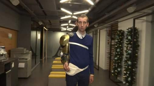 Роботизований екзоскелет українського винахідника переміг на конкурсі Robot Launch 2017