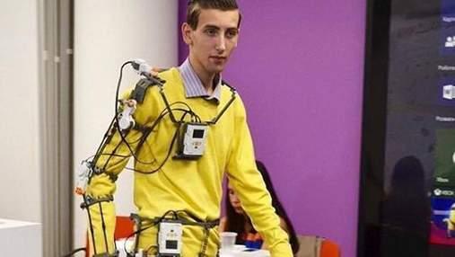 Неймовірна розробка українця для паралізованих людей виграла у престижному конкурсі