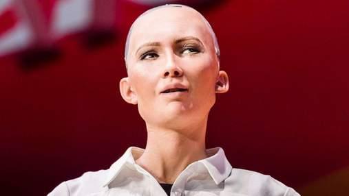 Стало відомо, чому робот Софія не відповіла на питання про те, як побороти корупцію в Україні