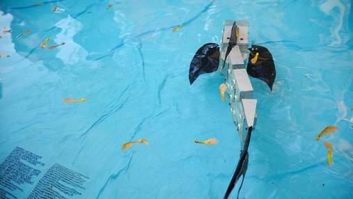 Ученые создали нового робота-рыбу для исследования подводного мира