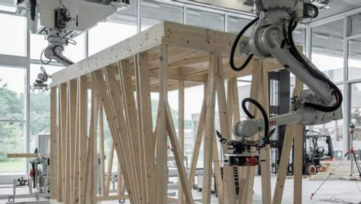 Роботов научили строить каркасы домов